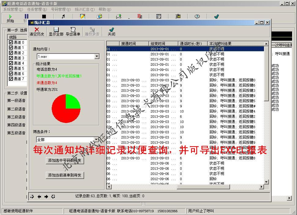 多路PCI版统计汇总